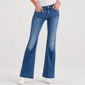 7 For All Mankind Dojo Flare Leg Trouser Jeans